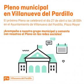 Ciudadanos (C's) Villanueva del Pardillo llevará a Pleno este miércoles los nuevos presupuestos de 2016