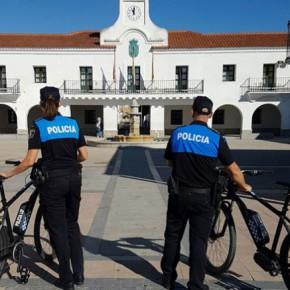 """Luis Sosa: """"Villanueva del Pardillo se convierte en un municipio pionero en el uso de bicicletas eléctricas por parte de la Policía Local"""""""